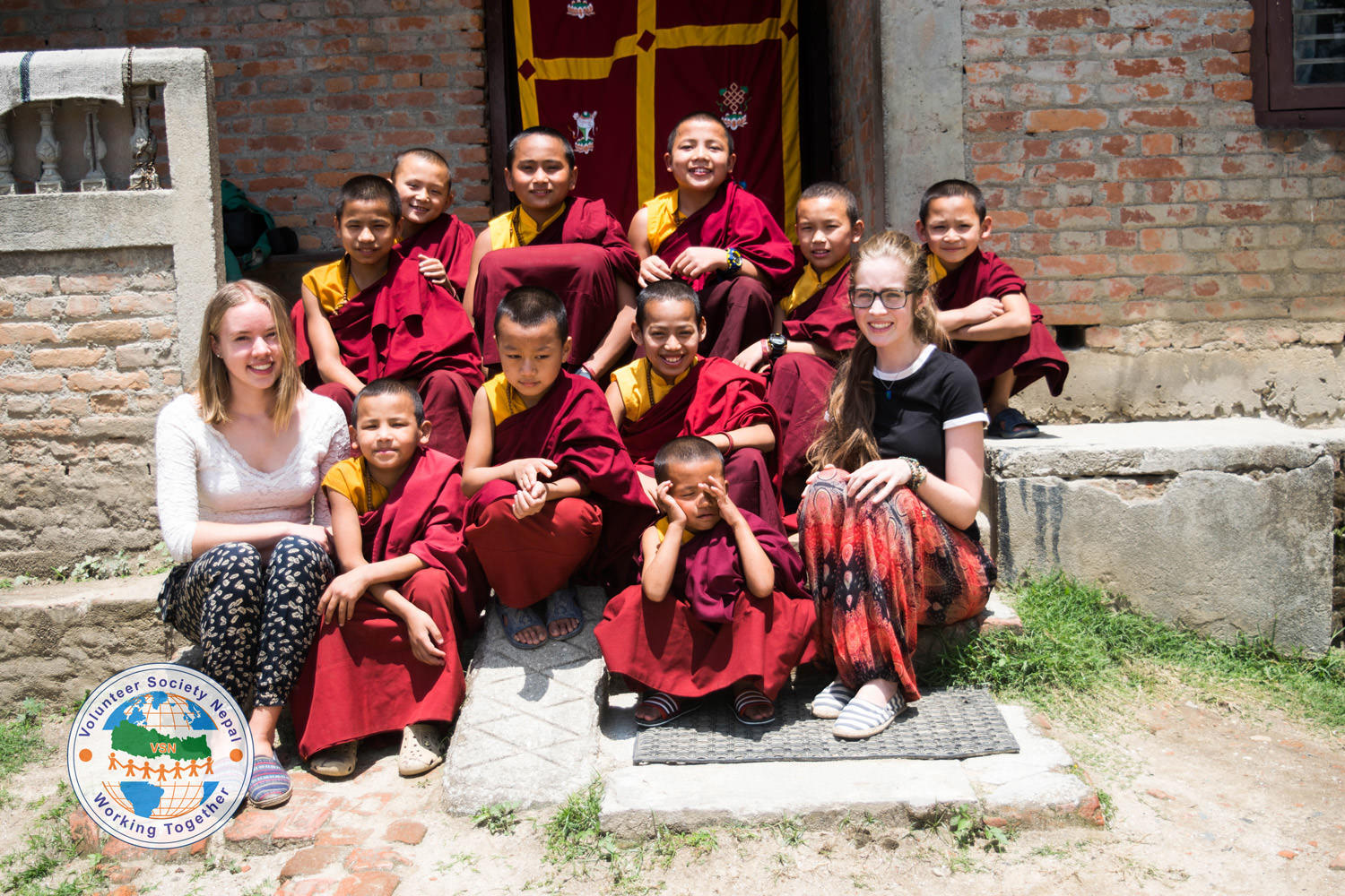 volunteer review- Teaching monastery and orphanage in Nepal