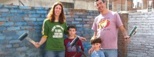 Family volunteering in Nepal