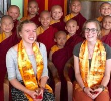monastery volunteering in Nepal