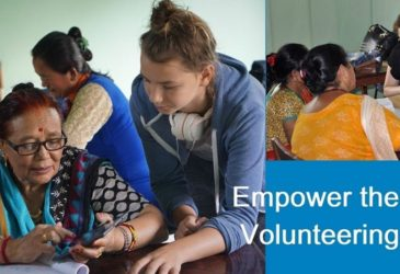 Empowering Women By Volunteering in Nepal