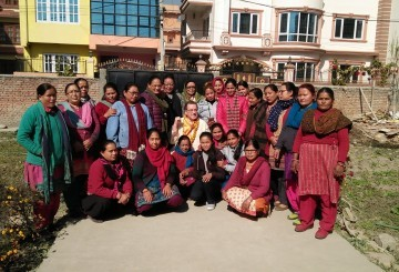 dave women center nepal welcome volunteer
