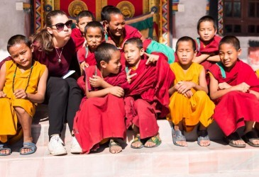 Teaching English and volunteering at Buddhist monastery in Nepal