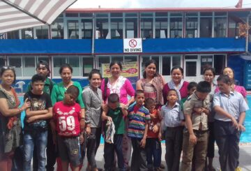 Volunteer in Nepal - Swimming Programe for the Intellectually disabled children, volunteer in nepal outdoor activities for children for special needs