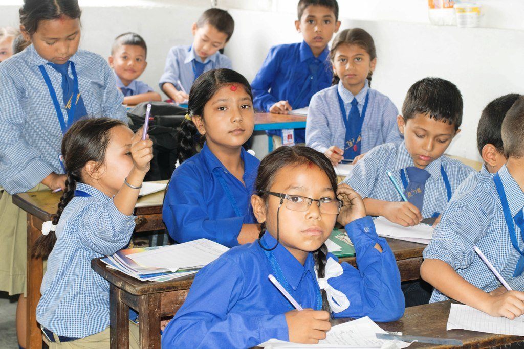 Volunteering in Nepal - Teaching at School
