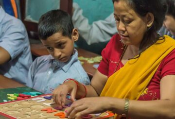 Volunteering in Nepal - Help the Disabled Child in Nepal Disability Center